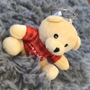 Coach Little bear keychain